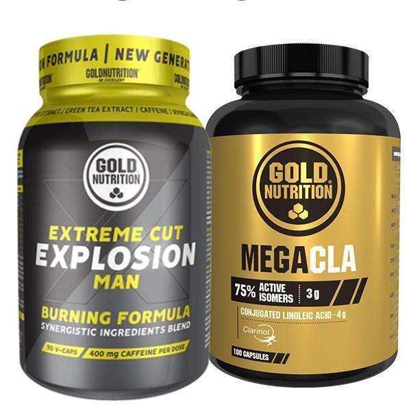 Extreme Cut Explosion Man e Mega Cla