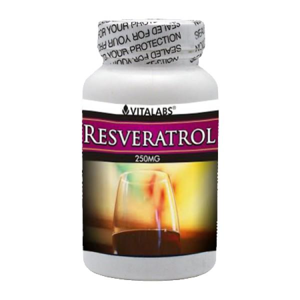 Resveratrol 250mg 60 Caps Vitalabs