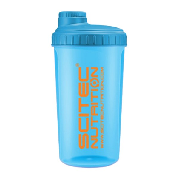 Shaker Neon Azul 750ml Scitec Nutrition