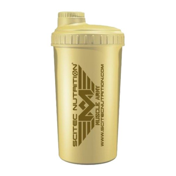 Shaker Muscle Army 750ml Bege
