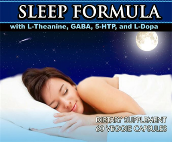 Sleep Formula 60 Caps Vitalabs Label
