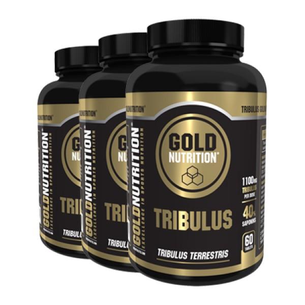 Tribulus - 3 x 60 cápsulas de 550mg
