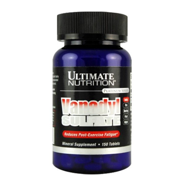Vanadyl Sulfate 10mg 150 Comp Ultimate Nutrition