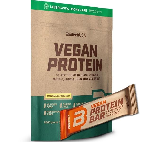 Vegan Protein 2Kg Biotech USA Gift