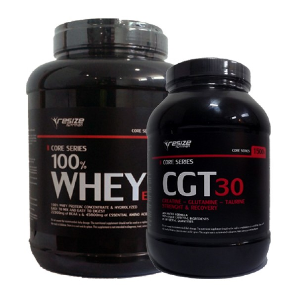 100% Whey Extra 2,27Kg + CGT-30 1,5Kg Resize