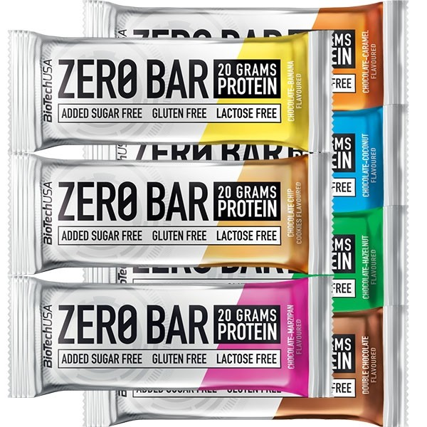 Zero Bar BioTech 13 x 50g + 4 - Biotech USA na NutriBody