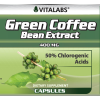 Green Coffee Bean Extract 60 Caps Vitalabs Label
