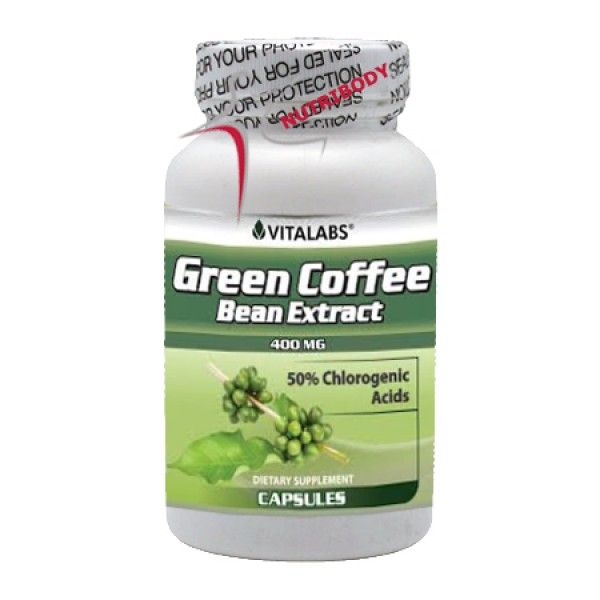 Green Coffee Bean Extract 60 Caps Vitalabs